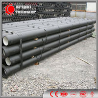 ISO 2531 PN10 DCI pipe with standard wall thickness