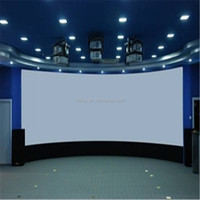 See larger image Customized Fixed Curved Frame Projector Screen/Cinema Frame Screen/High Quality Projection Screen