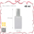 Easy carry transparent 8ml portable empty pump spray glass bottle