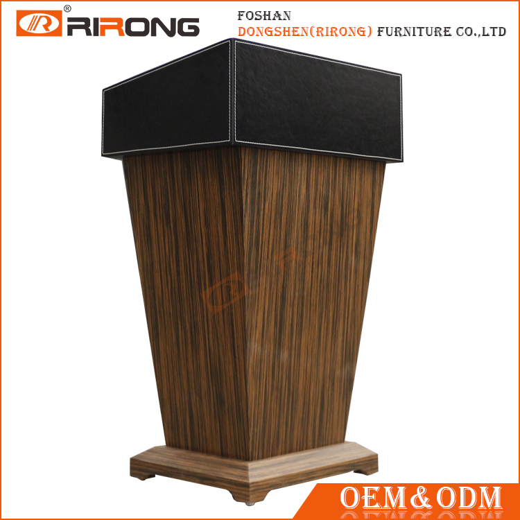 Customized multi color and size wooden podium designs , wooden lectern for church