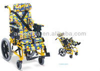FS985LBGY reclining wheelchair