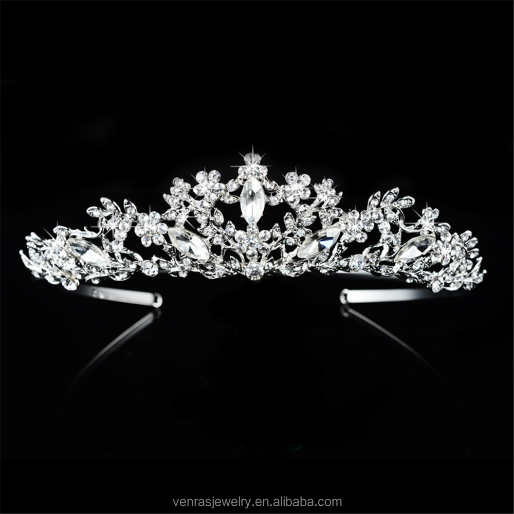 Factory Wholesale Vintage Luxury Cheap Bridal Tiaras Crown Wholesale