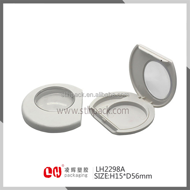 Free samples empty eye shadow cream jar BB or CC cream jar Cosmetic plastic Container