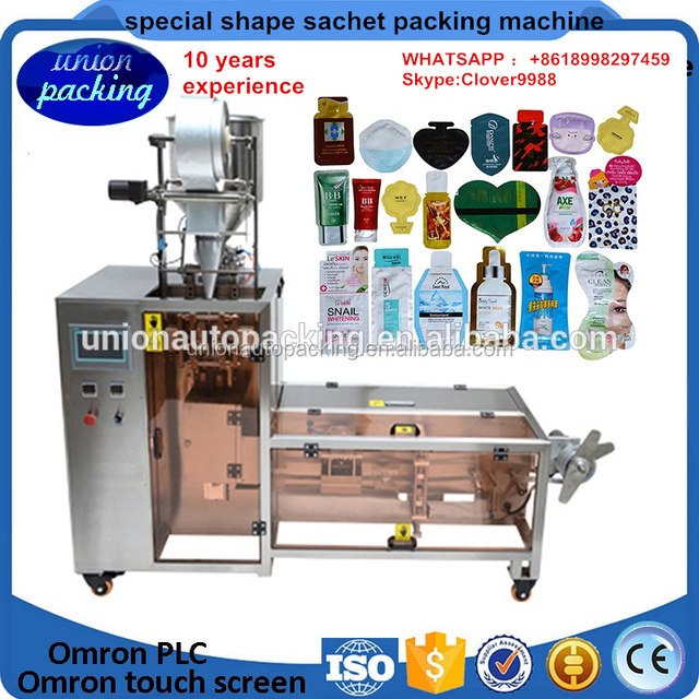 Irregular Lotion Sachet Filling and Sealing Equipment,Irregular Packaging Equipment System for Cosmetic Products