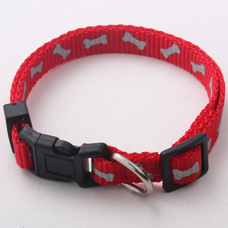 High Quality Best Selling Silk Screen Print Peted Dog Training Collar With Sample Free