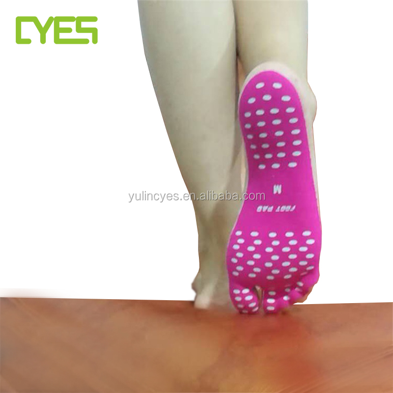 Invisible Waterproof Anti- Slip stick feet pad rubber foot pad