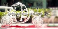 High quality princess wedding pumpkin cinderella horse carriage