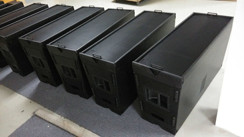 12 inch 3 way Pro audio line array sound system