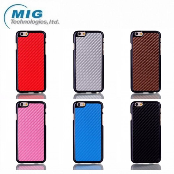 New carbon style snake cell phone case for iphone 6, for iphone 6 phone accessory case China manufacturer 7 colors