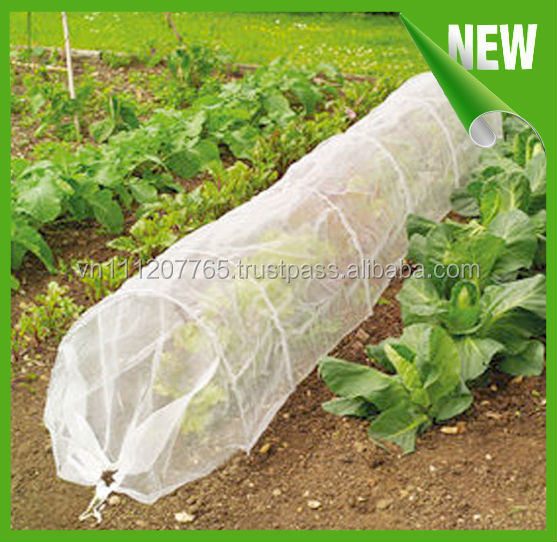 non-woven cover with reinforced edges for agriculture
