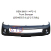 Auto Parts Frontr Bumper 86511-4F000 for Hyundai Porter H100 Pickup 06-07