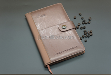 Fine silking splicing A5 PU cover notebook