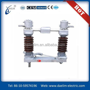 GW9 33kv 3 phase fused disconnect switch