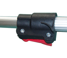 Telescopic pole parts for cleaning pole