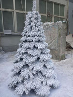 artificial banana tree SX-0301 with snow