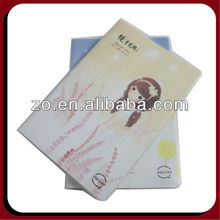 clear pvc cover notebook