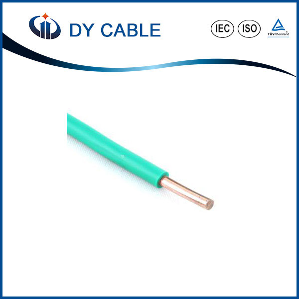 Factory direct supply One Core PVC insulation 0.75, 1, 1.5, 2.5, 4, 6mm2 BV Wire