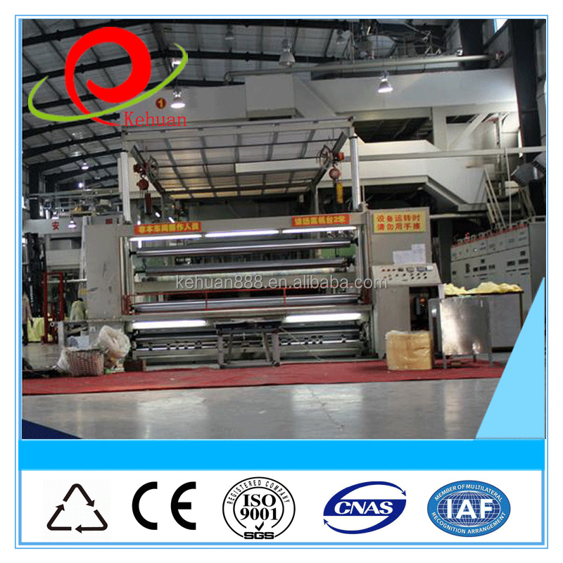 2015 top selling pp 3200 double beam spunbond nonwoven fabric production line/making machine
