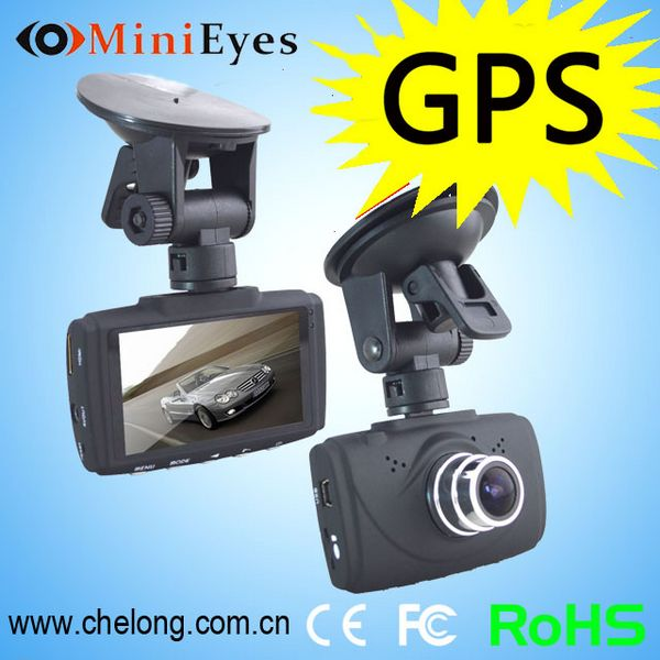 Effectively collect evidence for traffic accident GPS G-sensor r300 dash cam