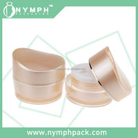 15g 30g Plastic cream jar with special shape lids
