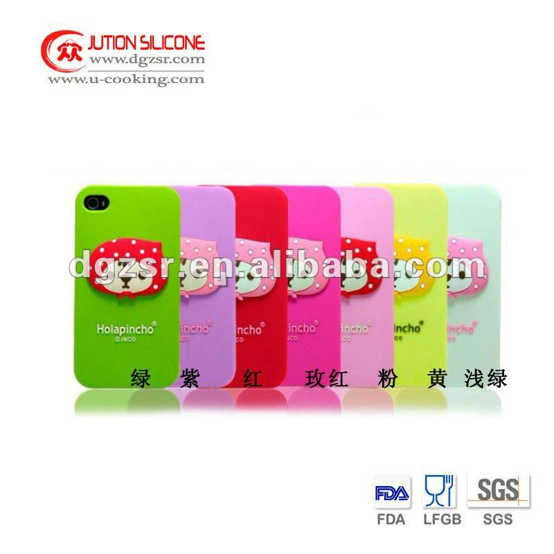 Promotional gifts silicone skin case, mobile phone case,silicone case