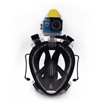 2017 hot sale anti-fog non-toxic 180 degree full face scuba diving mask waterproof silicone snorkel mask full face