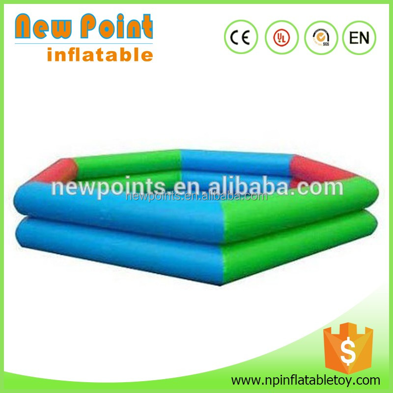 Factory price summer large custom float inflatable swimming pool for sale
