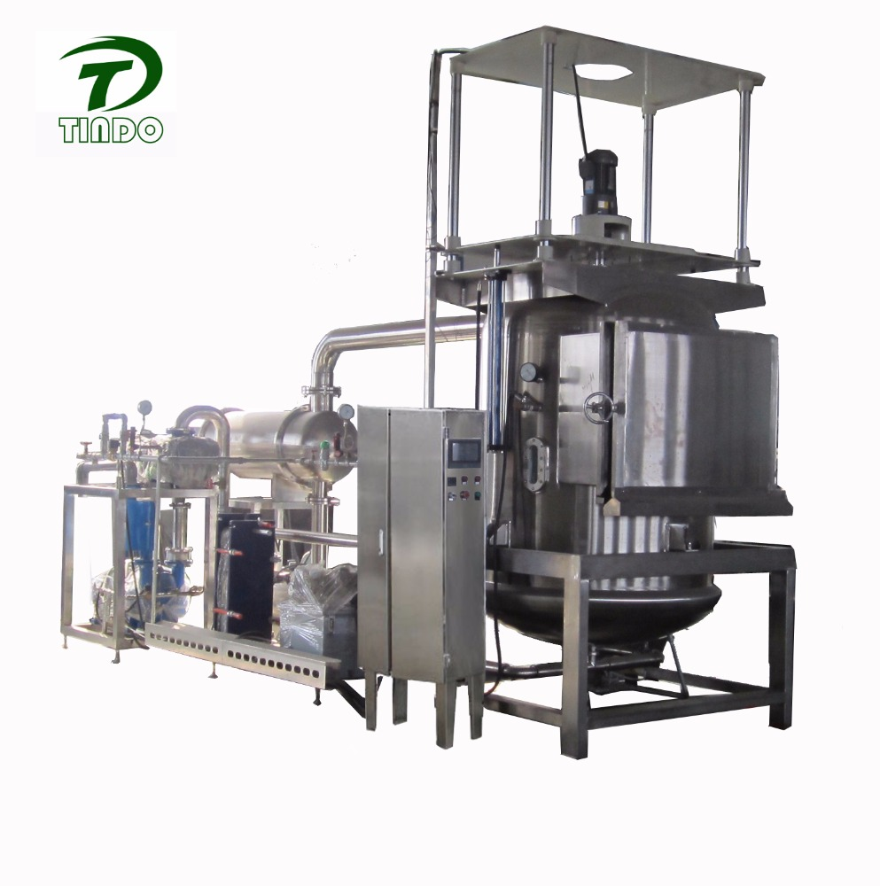 VF250 Automatic <strong>fruit</strong> and vegetable chips crispy vacuum oil-bath Dehydration machine