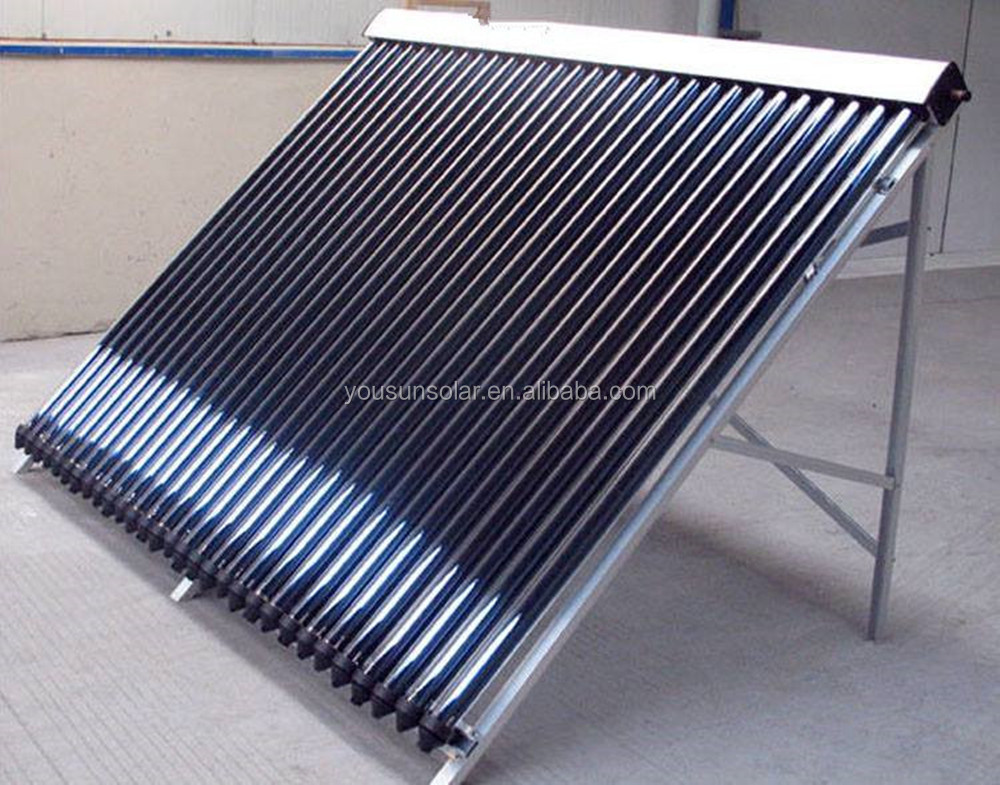 Good quality 30 tube Vacuum Tube Heat Pipe Pressure Collector Solar Heater