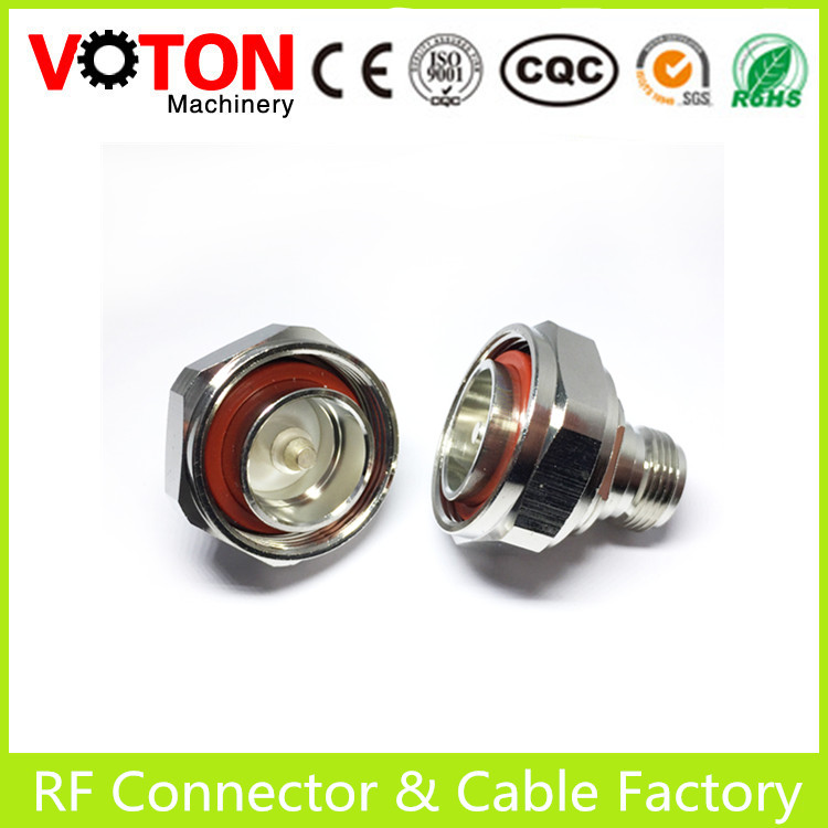 N Female to 7/16 Din Male Connector Adapter