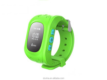 Hd Gsm Mobile Phone Wristband Q50 Kids Gps Security Tracker Smart Watch With Sim Card Slot Sos