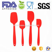 Durable Heat Resistant Silicone Spatula,FDA Approved BPA Free Silicone Spatula Set