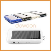 Solar Panel Solar Charger Mobile Solar Power Bank for Iphone 6 HTC Samusng Galaxy S5