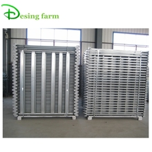 portable metal cattle yard fence panels for Australia and New Zealand