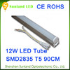 Long lifetime CE ROHS T5 12w SMD2835 1200lm modern led red tube sex