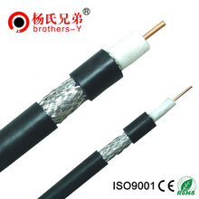 75ohm coaxial cable rg6 steel messenger for export