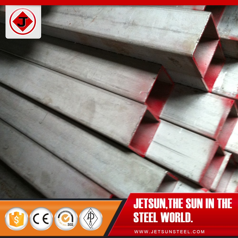 Promotional Price SS304 40mm*40mm*3mm*6000mm Seamless <strong>Stainless</strong> Steel Square Pipe with Plain End