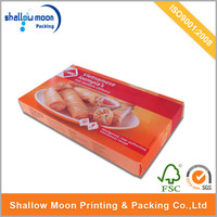 high quality custom frozen food box packaging