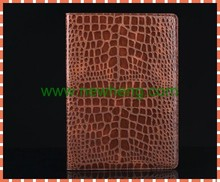 High Quality Crocodile Leather Magnetic Flip Cover Stand Case For iPad air 2