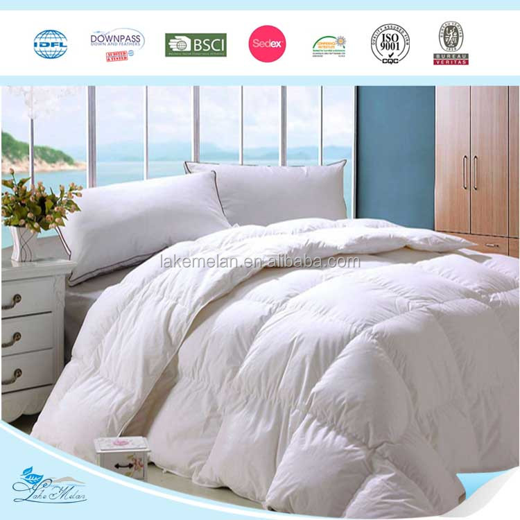 Super Soft Home Bedding Snow Goose Down Quilt Inner