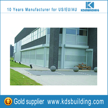 Heat insulation industrial aluminum overhead door garage door
