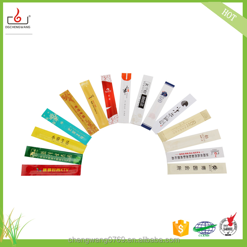 High quality ice cream toothpick paper wrapped toothpick with logo