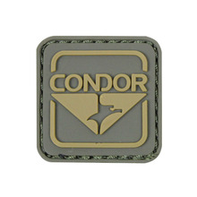 Square shape 3D logo custom rubber pvc label patch