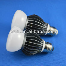 Top Quality 6063 super aluminum led cob bulb sandblasted glass designs