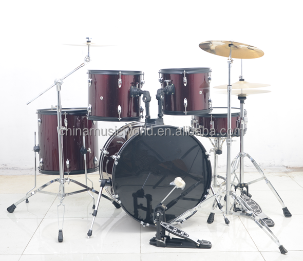 Afanti High Grade 5-PC Drum Set (AD-401)10 piece drum set