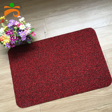 Welcome Door Mat Outdoor Indoor Grass Like Scrubber Brush Scraper Clean Mud Dirt