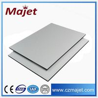 wall decoration stickers Plastic Film Coated Aluminium panel nano pvdf acp sheets