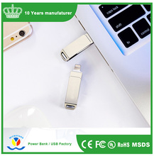 Dual usb 3.0 flash Memory drive for computer and smartphone Iphone 32GB 64GB USB3.0 otg usb flash drive