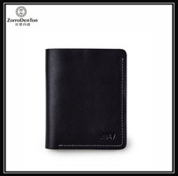 2016 Popular Small Soft Slim Genuine Leather Wallets for men with Best Price