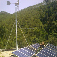 off grid hybrid solar wind power system 1000W